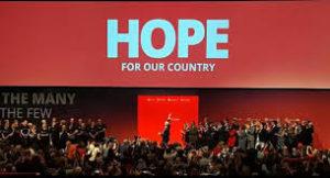 Jeremy corbyn hope