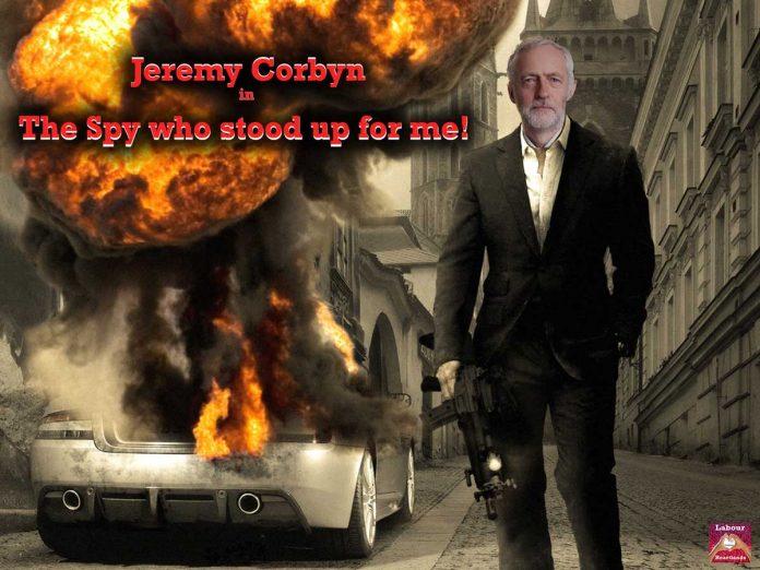 Jeremy Corbyn Communist Spy