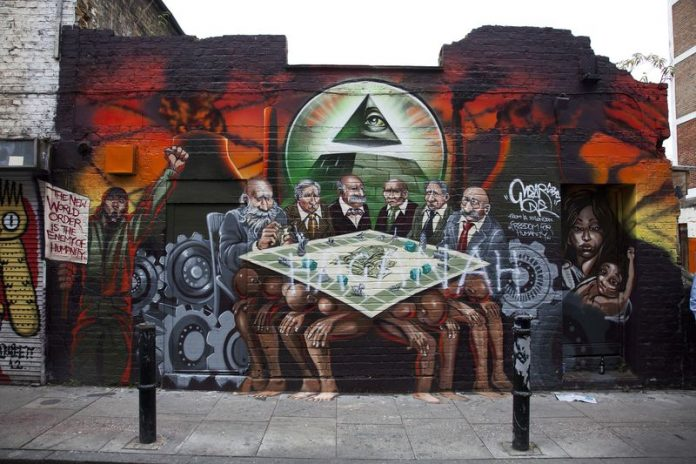 anti-semitic mural