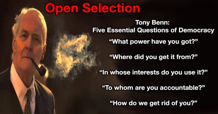 open selection