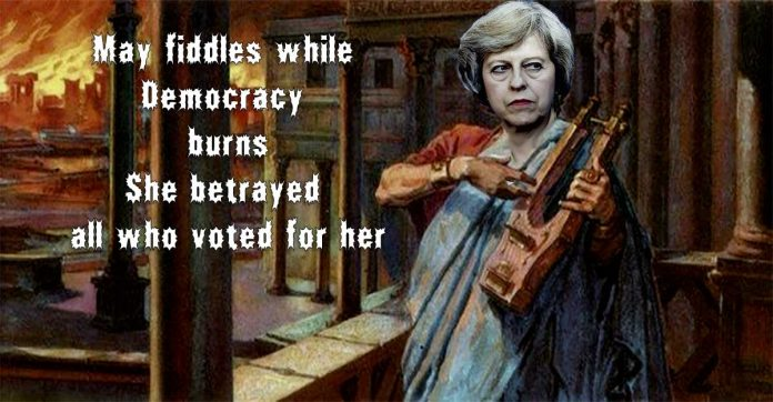 May fiddles brexit