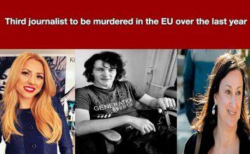 Third Investigative journalist murdered in the last year.