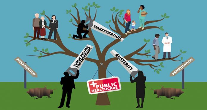 The threats to public healthcare