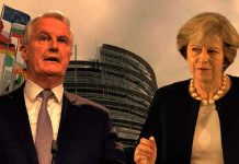 theresa-may-vs-Michel-Barnier.
