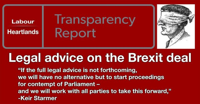 Legal advice on the Brexit deal