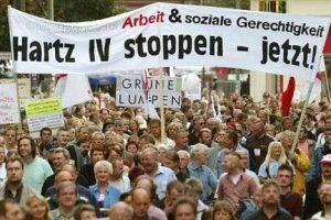 Hartz iv protest