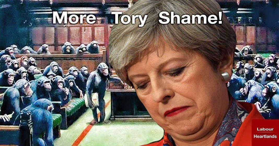 Theresa May Shamed at the dispatch box