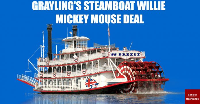GRAYLING'S STEAMBOAT WILLIE MICKEY MOUSE DEAL