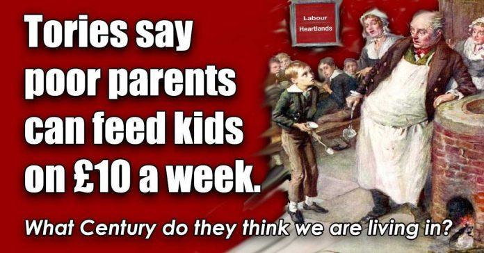 feed kids on £10
