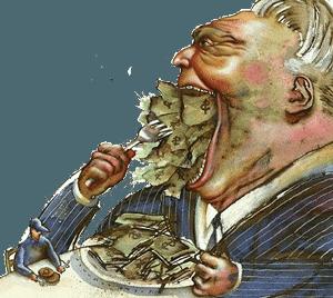 Capitalist greed